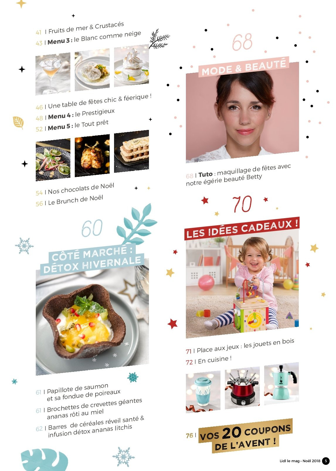 Catalogue Lidl - 26.11.2018 - 30.12.2018. Page 5.