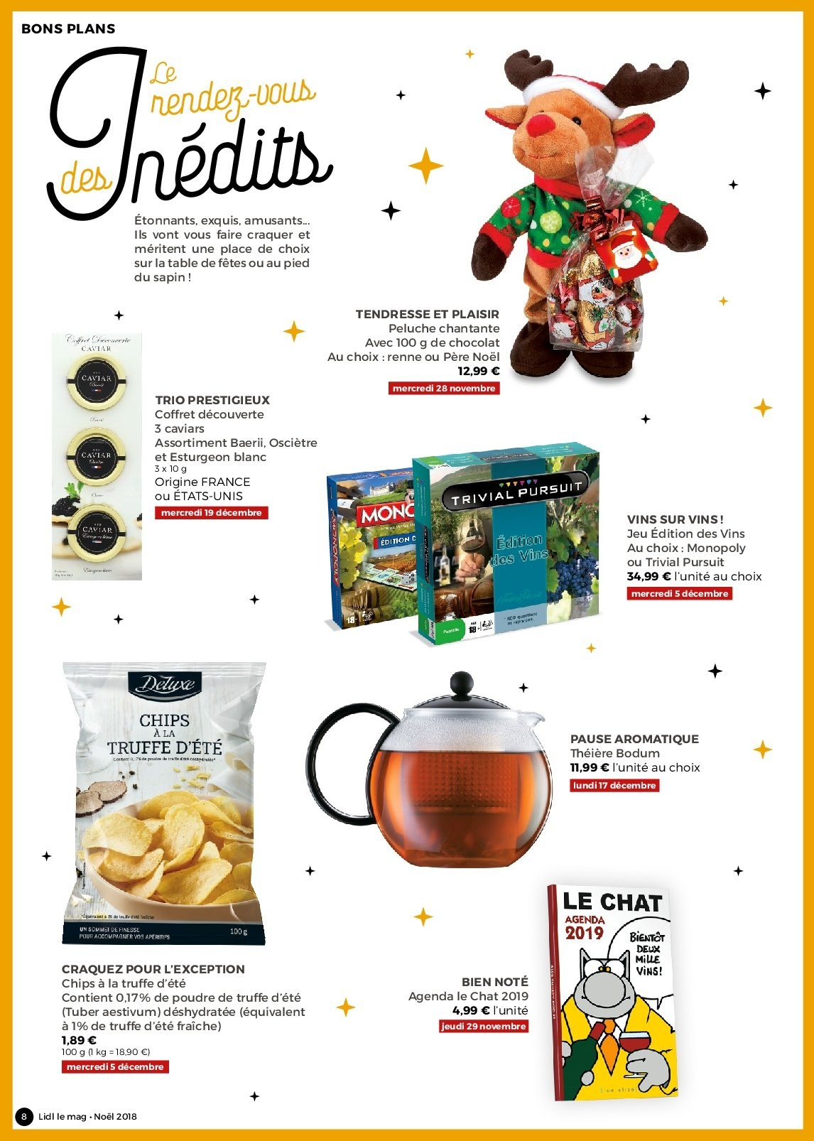 Catalogue Lidl - 26.11.2018 - 30.12.2018. Page 8.