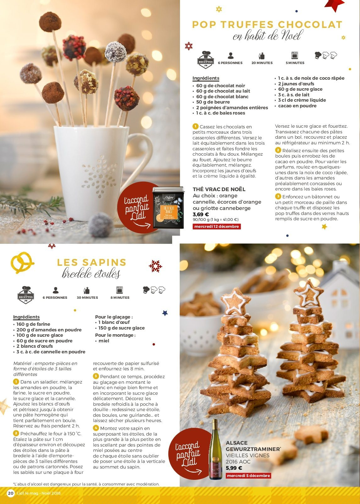 Catalogue Lidl - 26.11.2018 - 30.12.2018. Page 20.