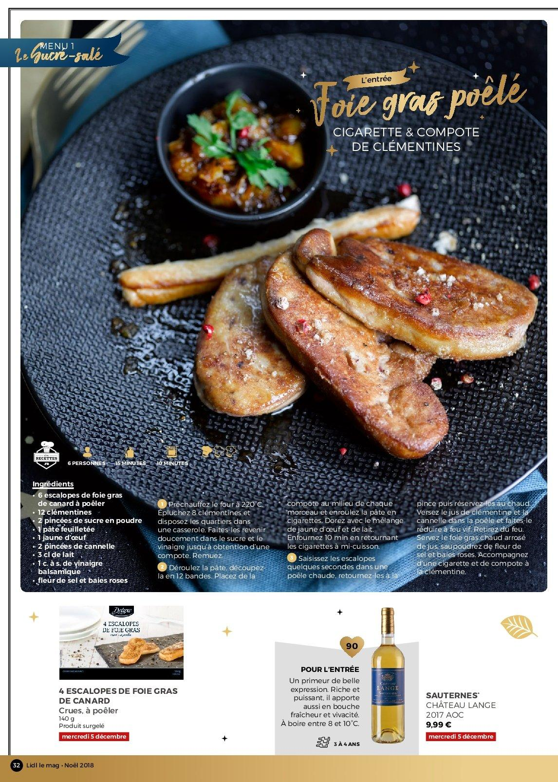 Catalogue Lidl - 26.11.2018 - 30.12.2018. Page 32.