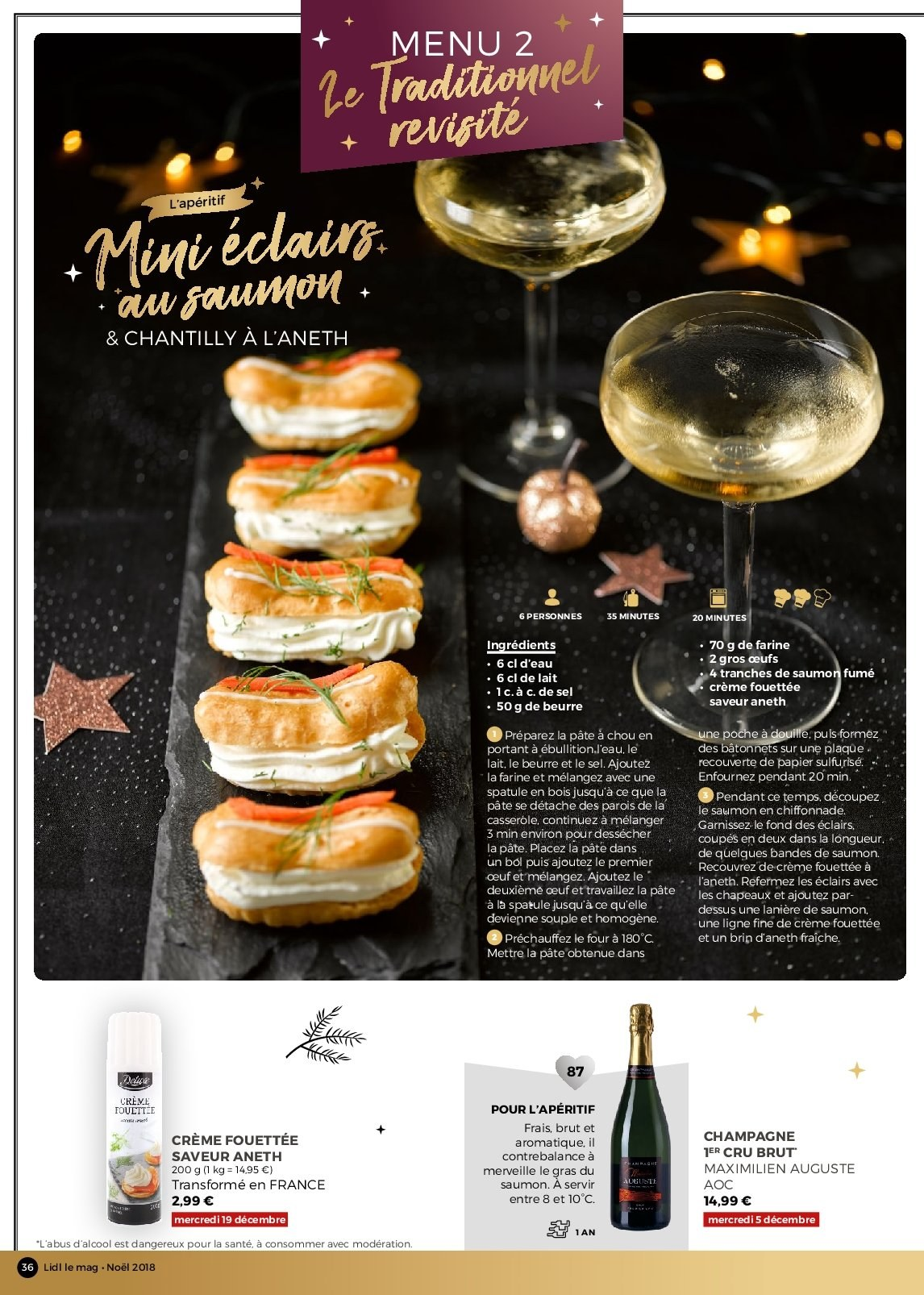 Catalogue Lidl - 26.11.2018 - 30.12.2018. Page 36.