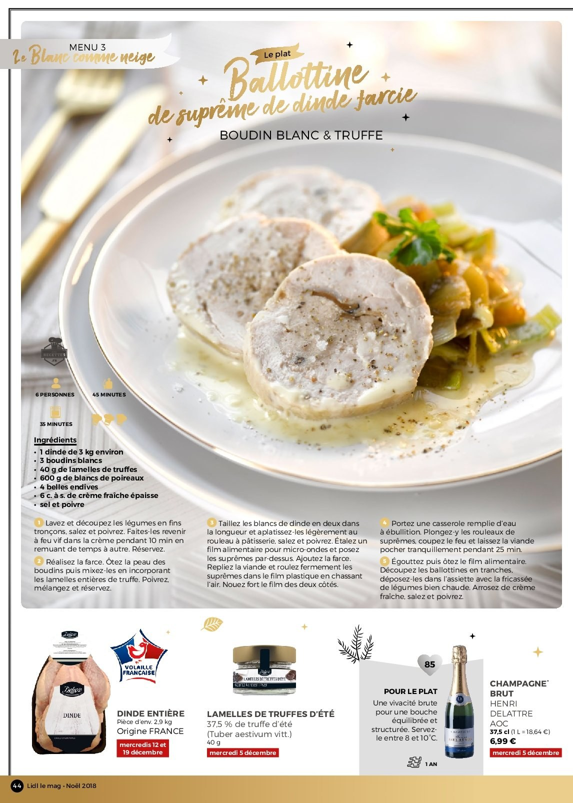 Catalogue Lidl - 26.11.2018 - 30.12.2018. Page 44.