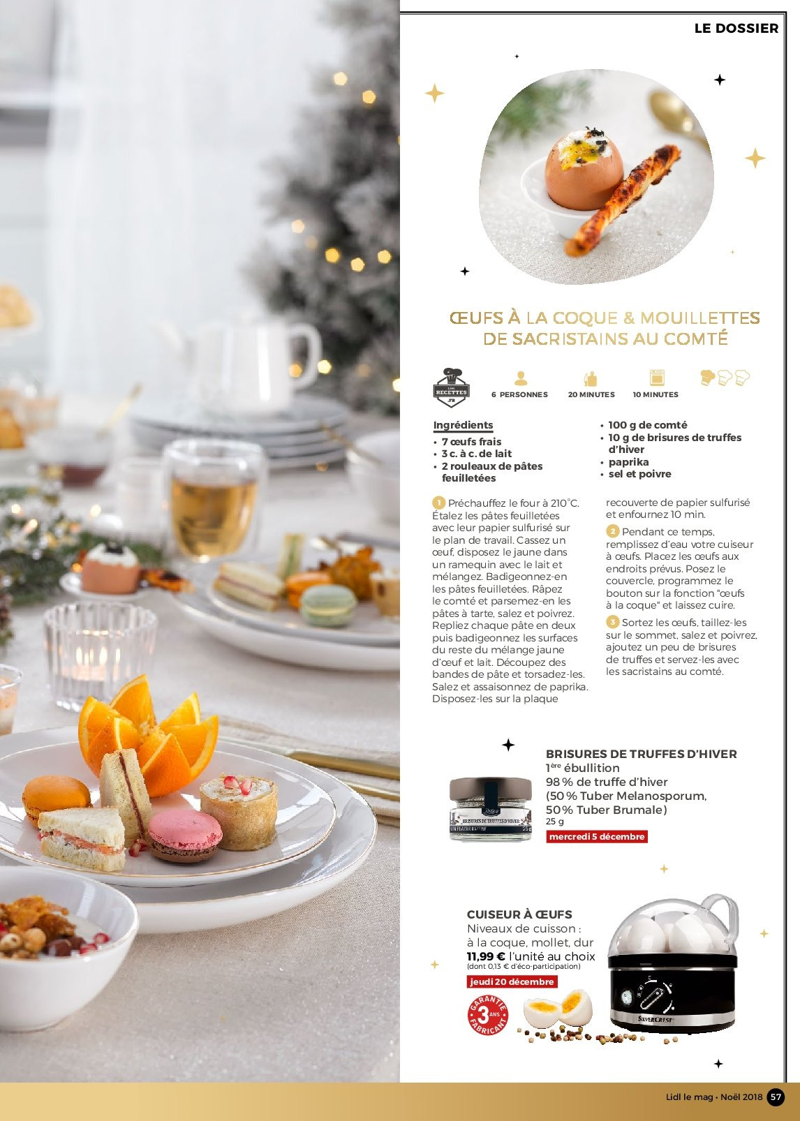 Catalogue Lidl - 26.11.2018 - 30.12.2018. Page 57.