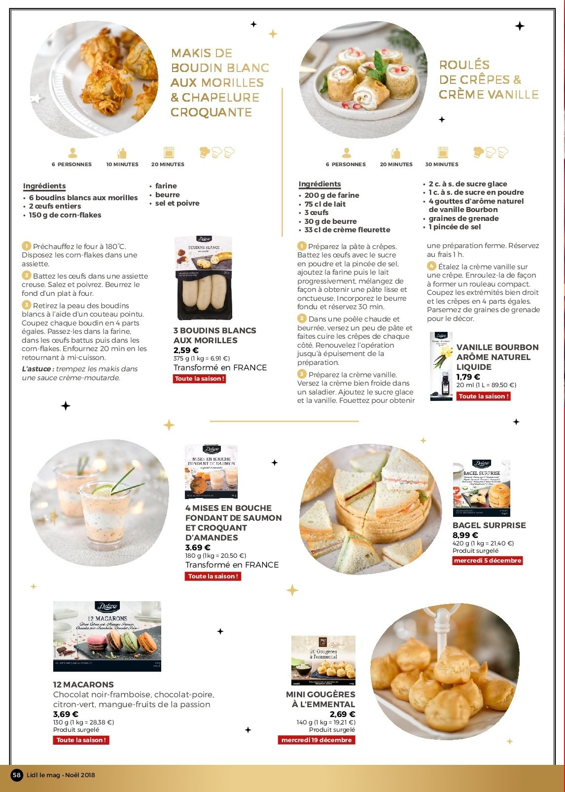 Catalogue Lidl - 26.11.2018 - 30.12.2018. Page 58.