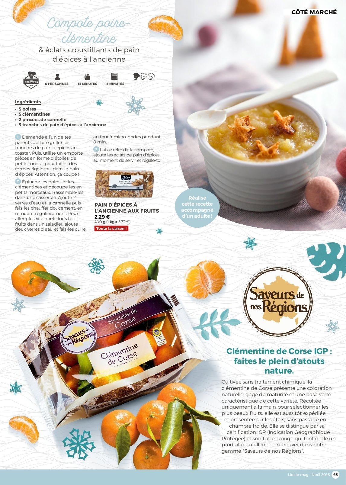 Catalogue Lidl - 26.11.2018 - 30.12.2018. Page 63.