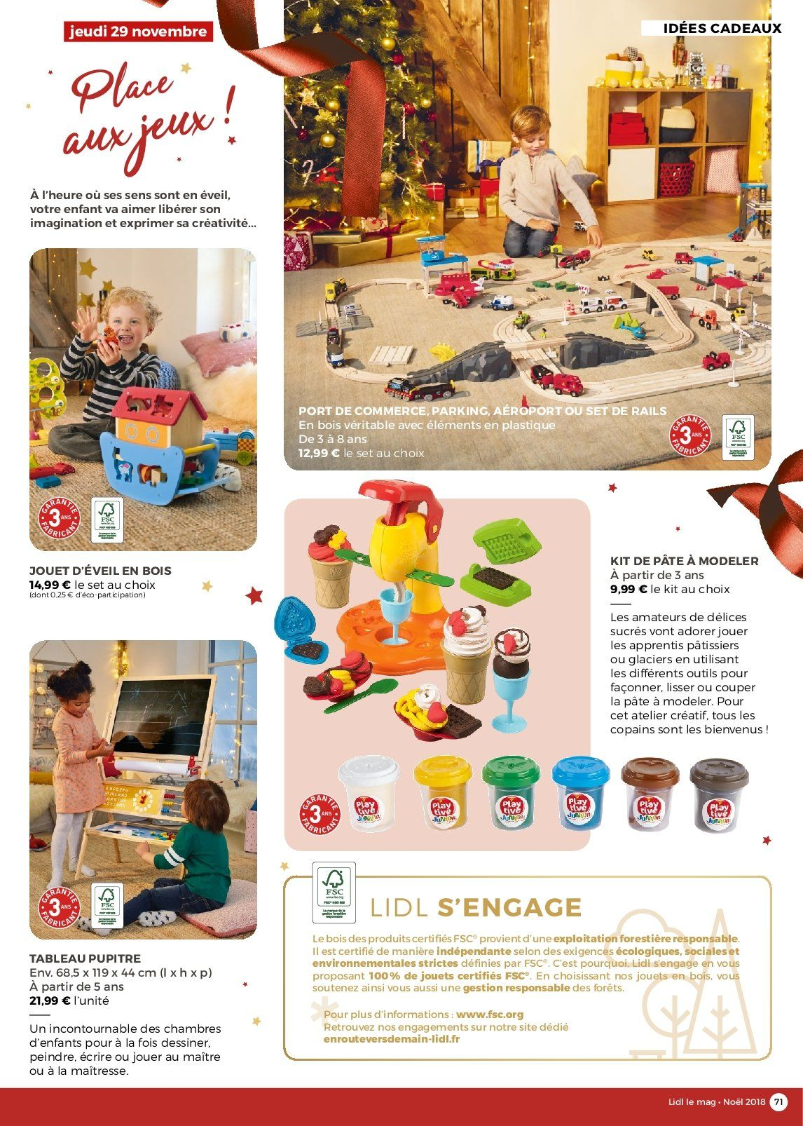 Catalogue Lidl - 26.11.2018 - 30.12.2018. Page 71.