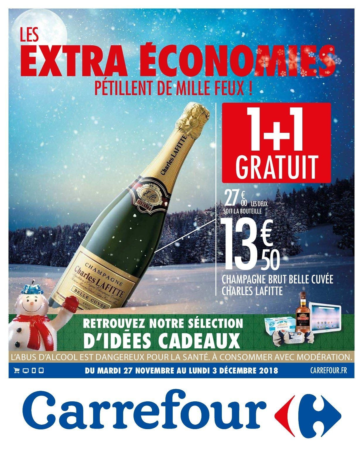 Catalogue Carrefour - 27.11.2018 - 03.12.2018. Page 1.
