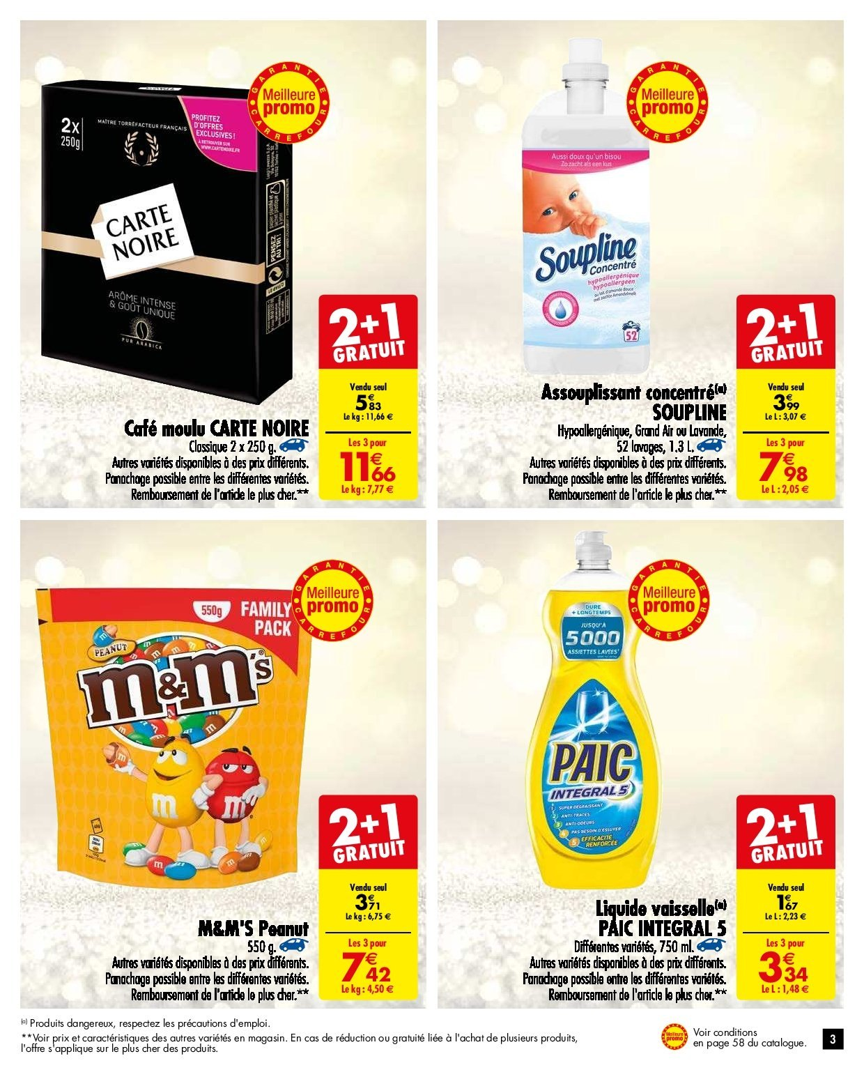 Catalogue Carrefour - 27.11.2018 - 03.12.2018. Page 3.
