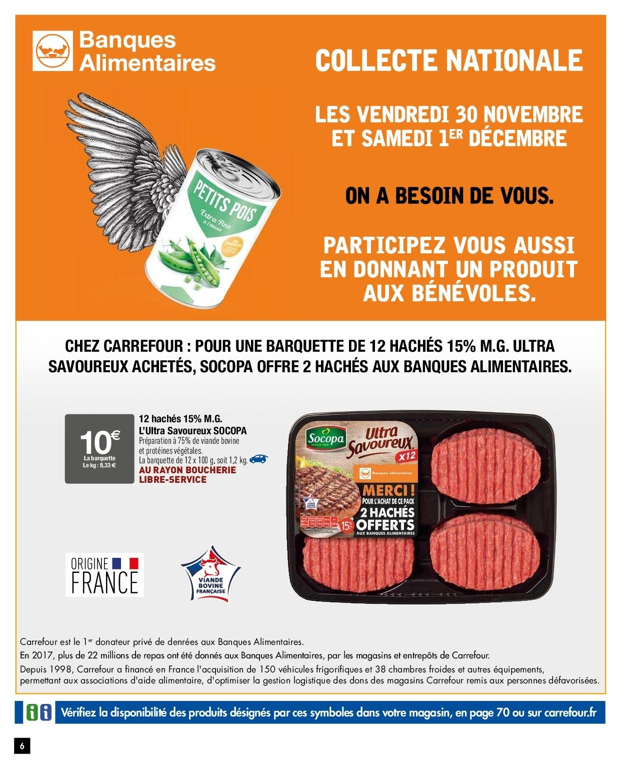 Catalogue Carrefour - 27.11.2018 - 03.12.2018. Page 4.