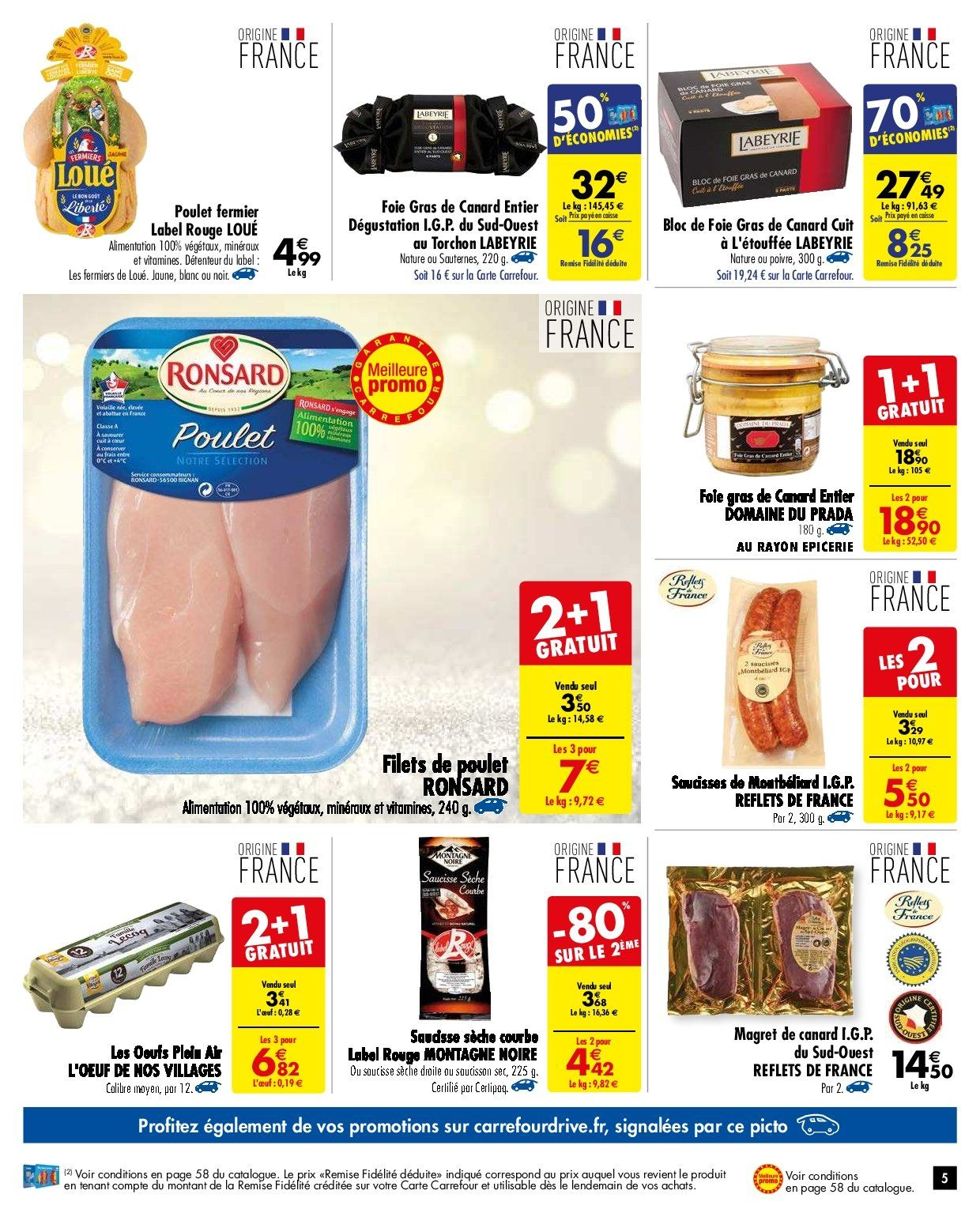 Catalogue Carrefour - 27.11.2018 - 03.12.2018. Page 5.