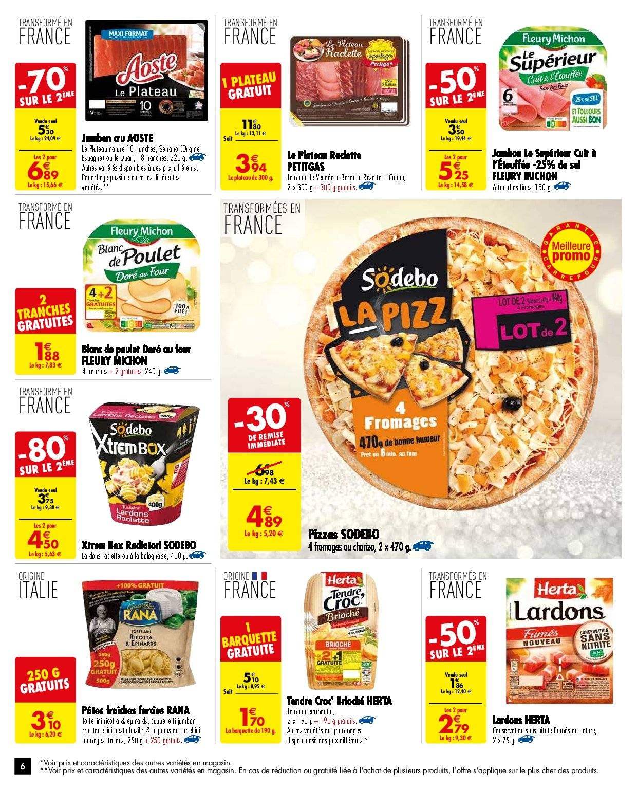 Catalogue Carrefour - 27.11.2018 - 03.12.2018. Page 6.