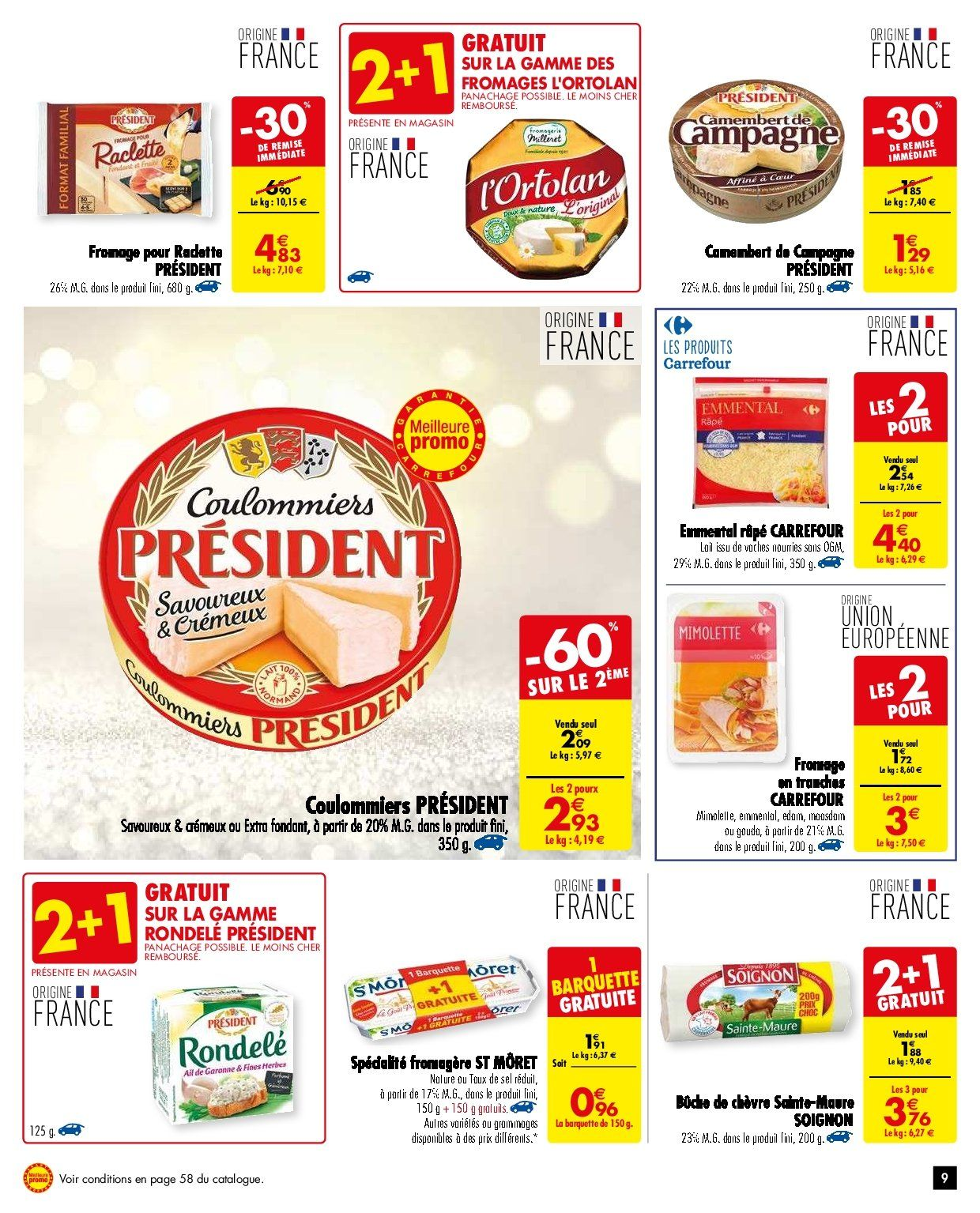 Catalogue Carrefour - 27.11.2018 - 03.12.2018. Page 9.