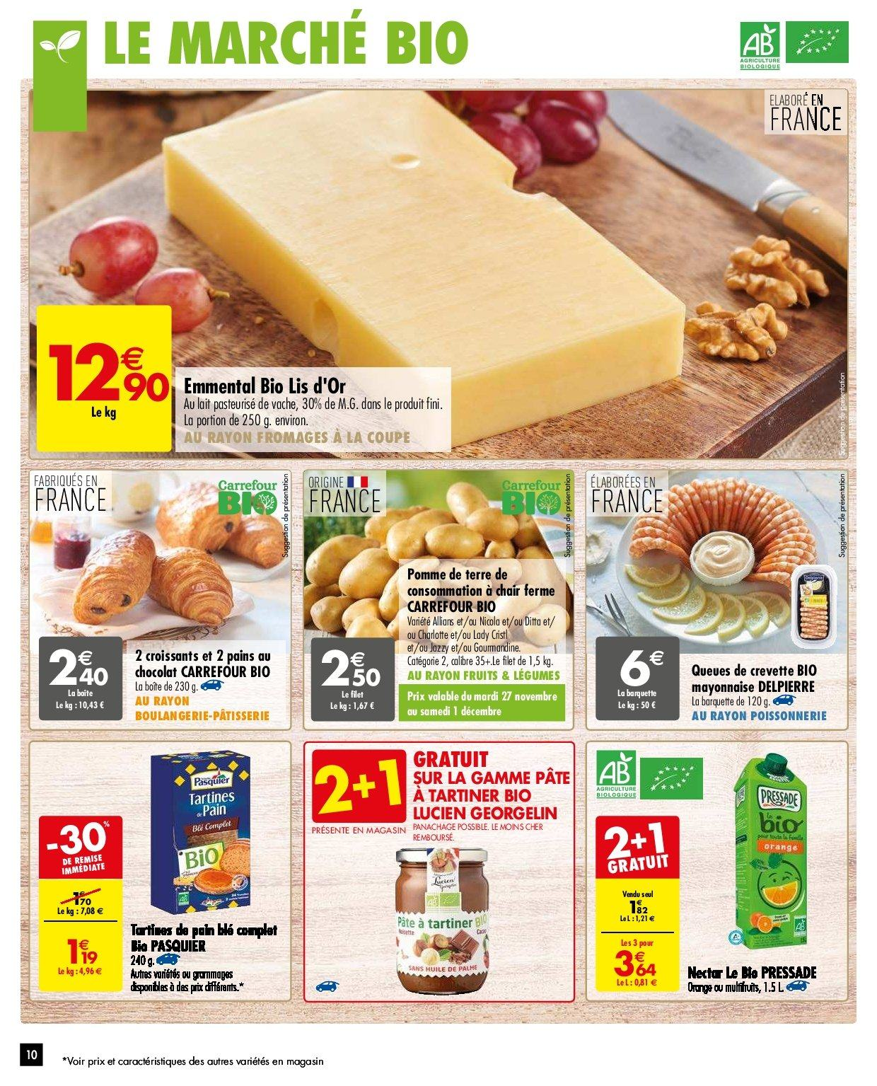 Catalogue Carrefour - 27.11.2018 - 03.12.2018. Page 10.