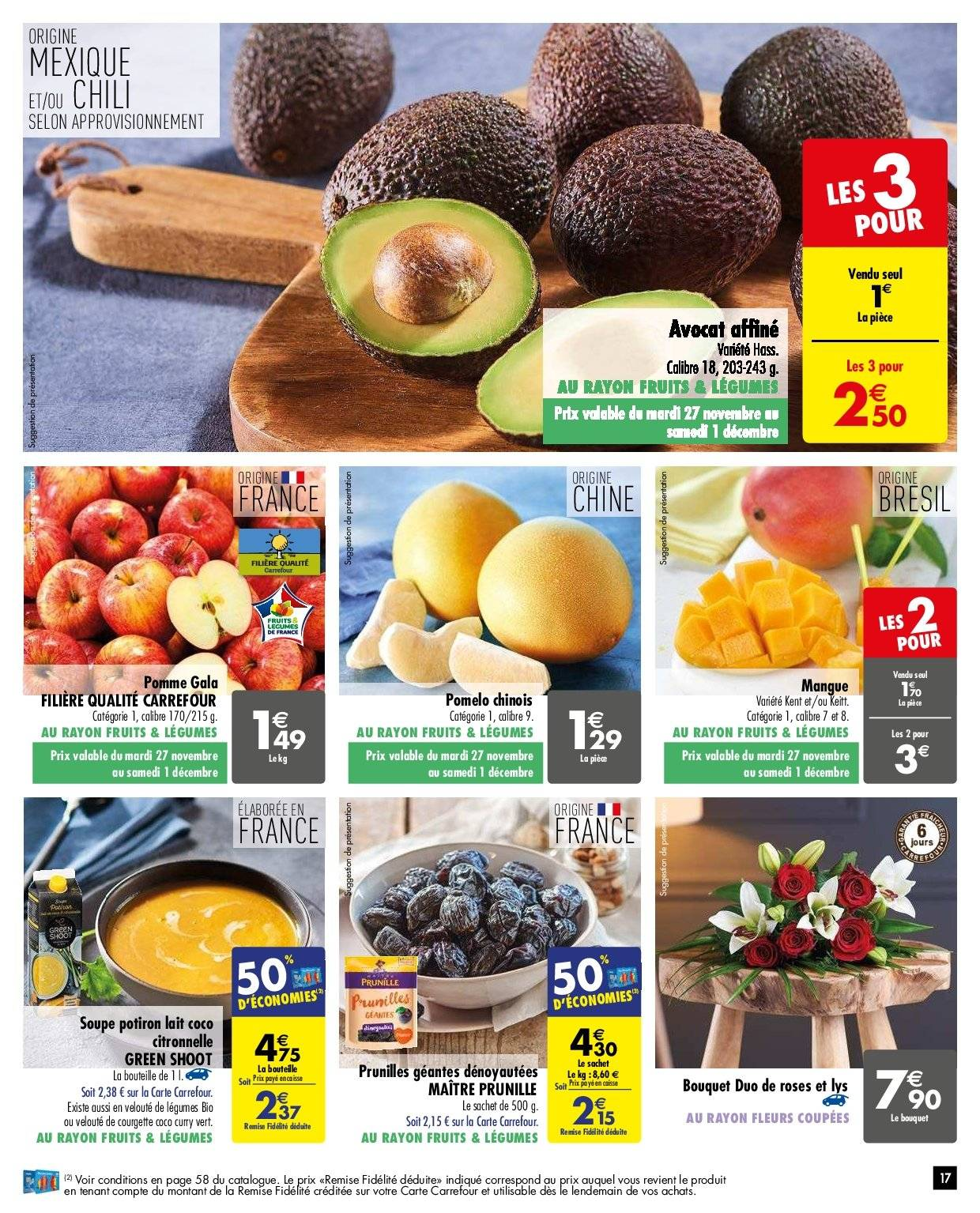 Catalogue Carrefour - 27.11.2018 - 03.12.2018. Page 17.