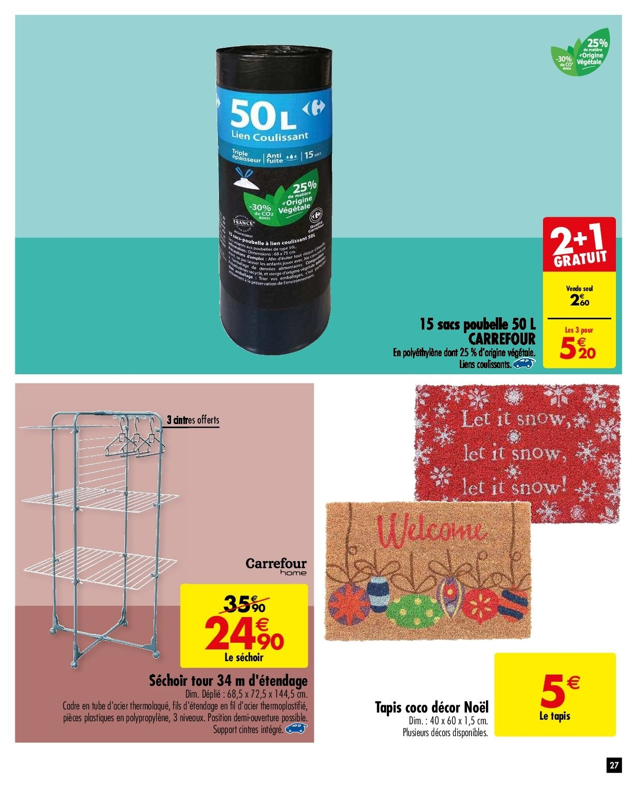 Catalogue Carrefour - 27.11.2018 - 03.12.2018. Page 27.