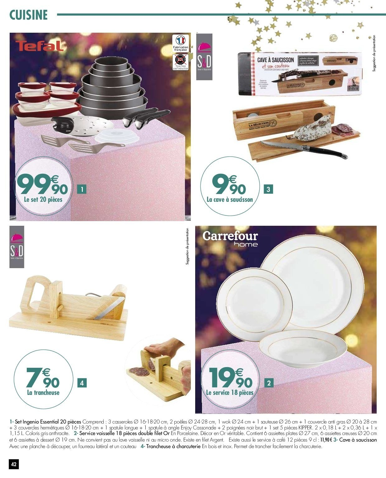Catalogue Carrefour - 27.11.2018 - 03.12.2018. Page 42.