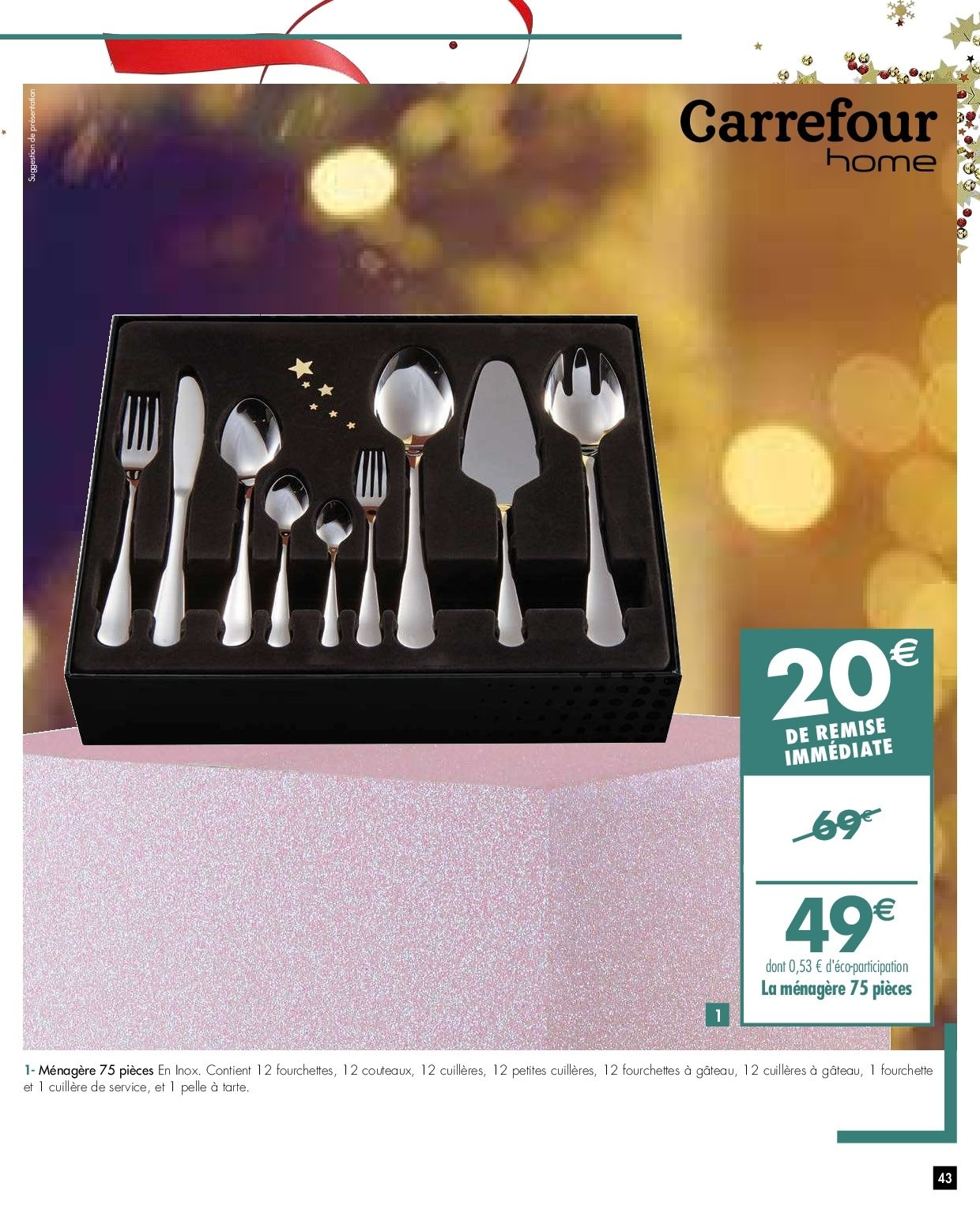 Catalogue Carrefour - 27.11.2018 - 03.12.2018. Page 43.