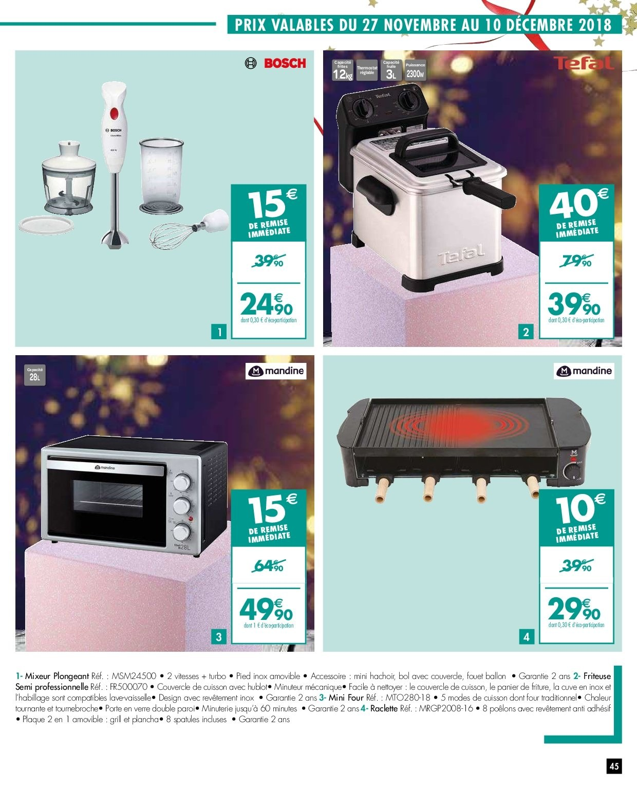 Catalogue Carrefour - 27.11.2018 - 03.12.2018. Page 45.