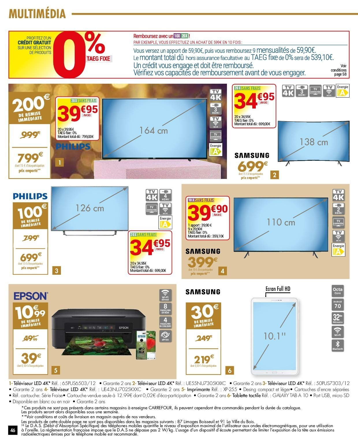 Catalogue Carrefour - 27.11.2018 - 03.12.2018. Page 46.