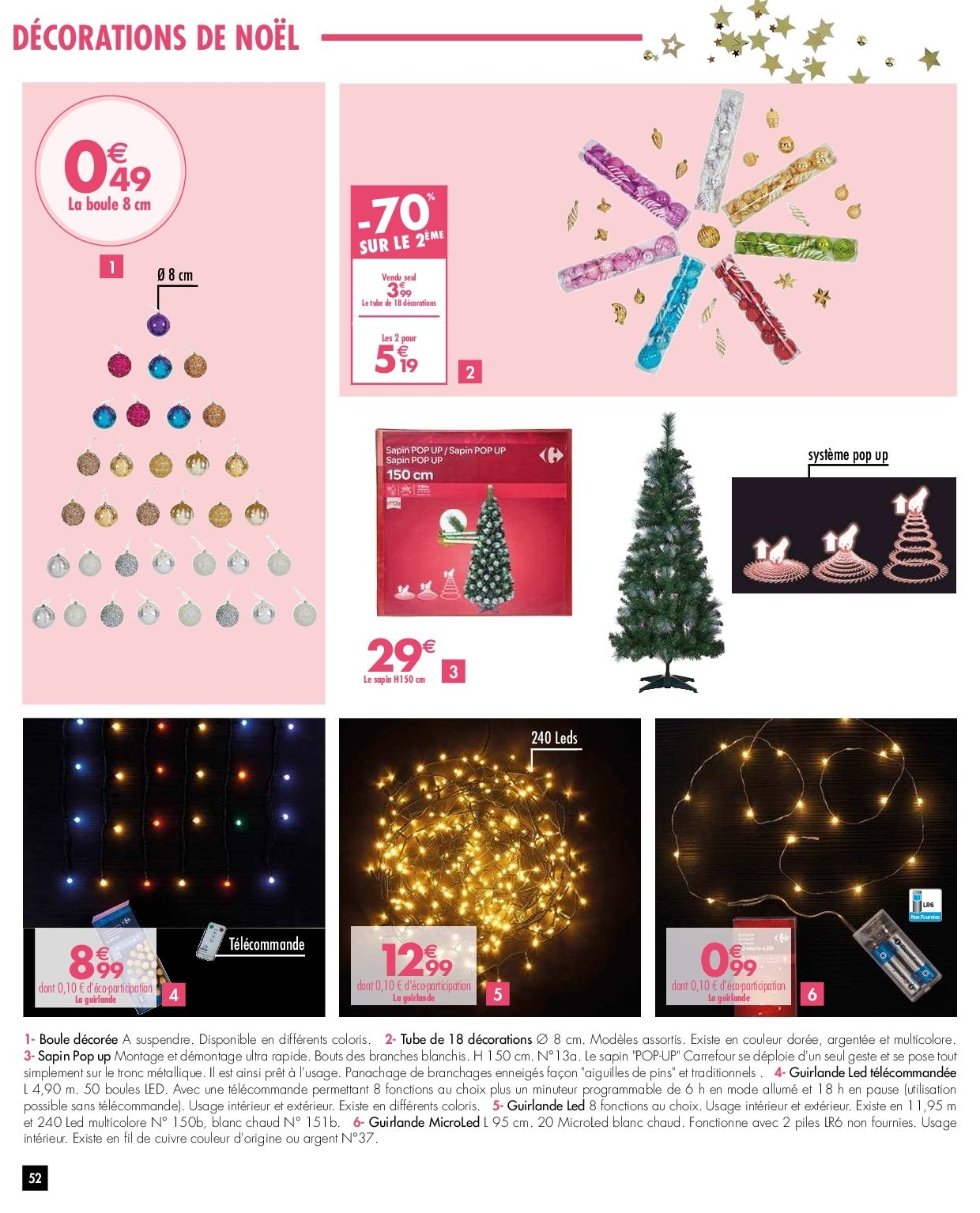Catalogue Carrefour - 27.11.2018 - 03.12.2018. Page 52.