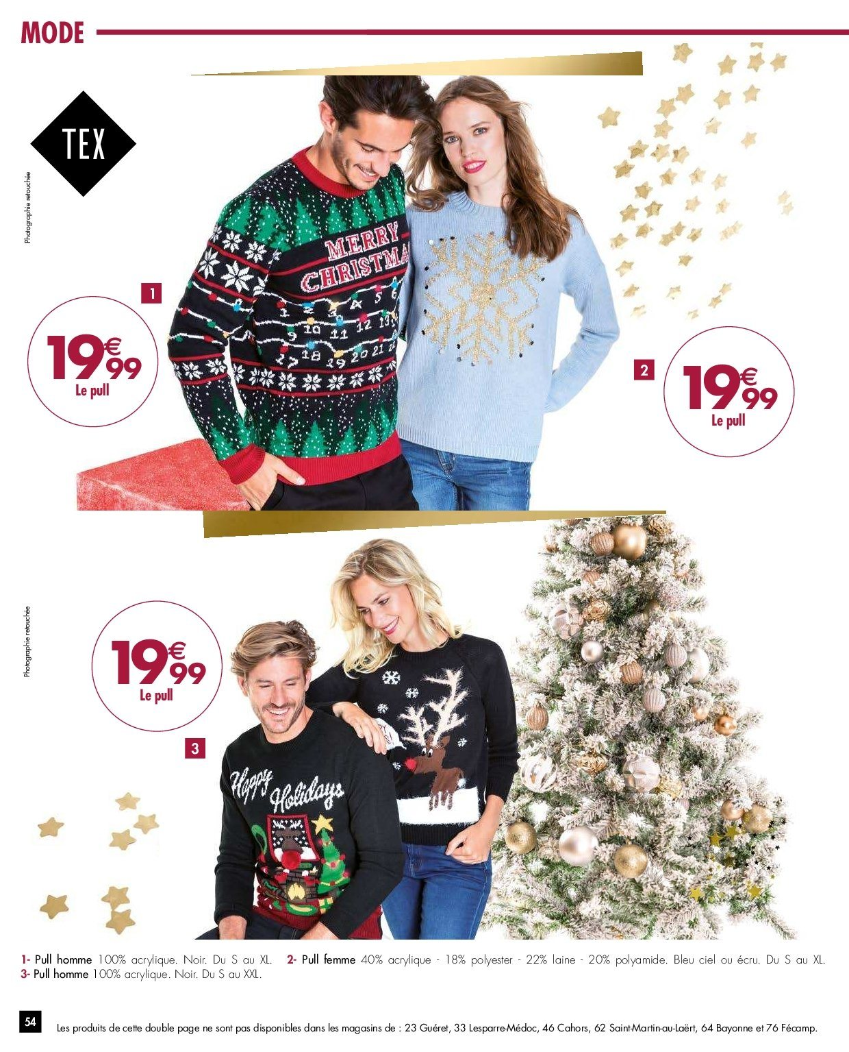 Catalogue Carrefour - 27.11.2018 - 03.12.2018. Page 54.