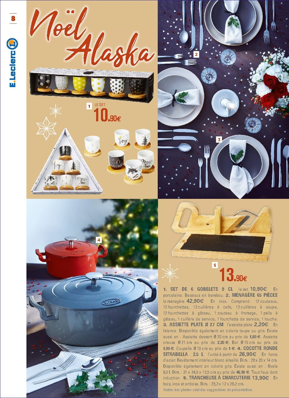 Catalogue E.Leclerc - 04.12.2018 - 15.12.2018. Page 8.