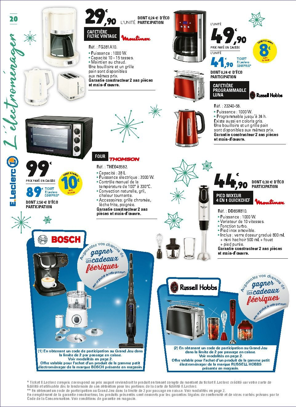 Catalogue E.Leclerc - 04.12.2018 - 15.12.2018. Page 20.