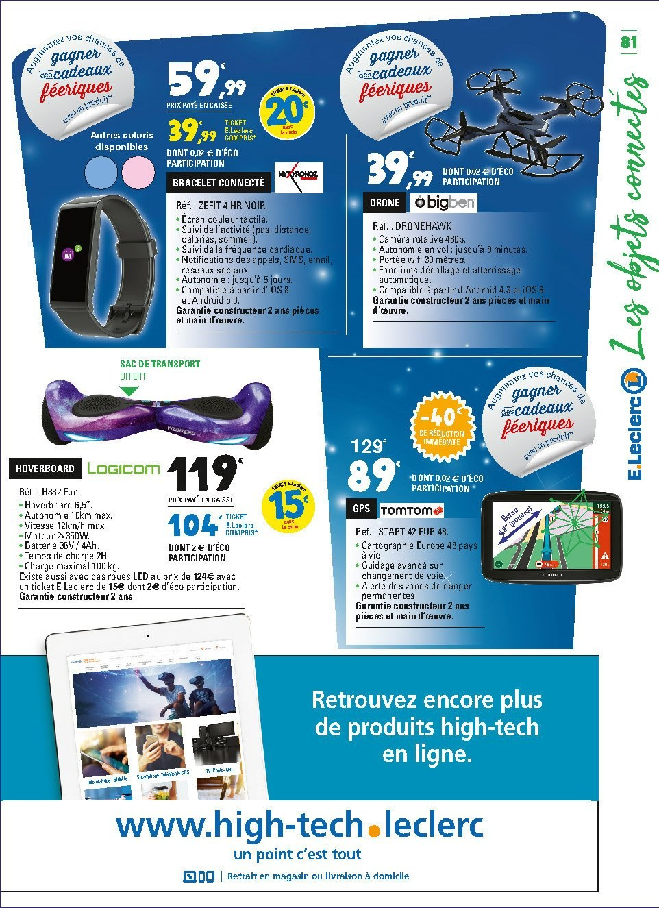 Catalogue E.Leclerc - 04.12.2018 - 15.12.2018. Page 81.