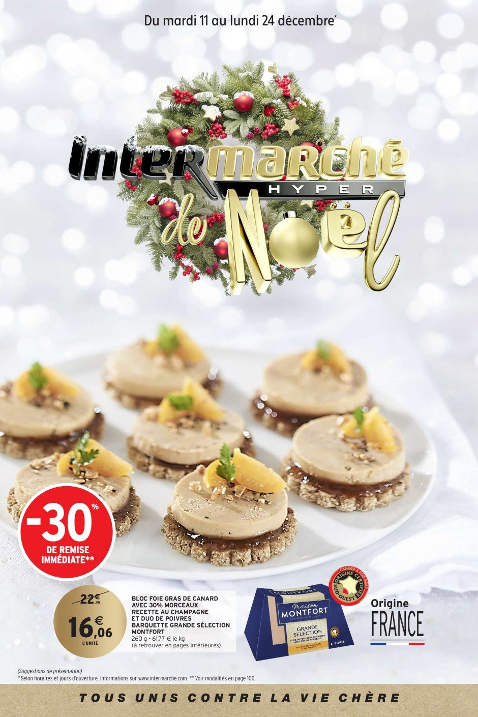 Catalogue Intermarché - 11.12.2018 - 24.12.2018. Page 1.