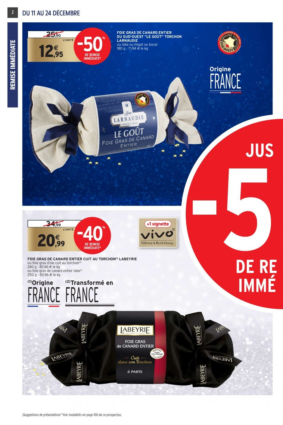 Catalogue Intermarché - 11.12.2018 - 24.12.2018. Page 2.