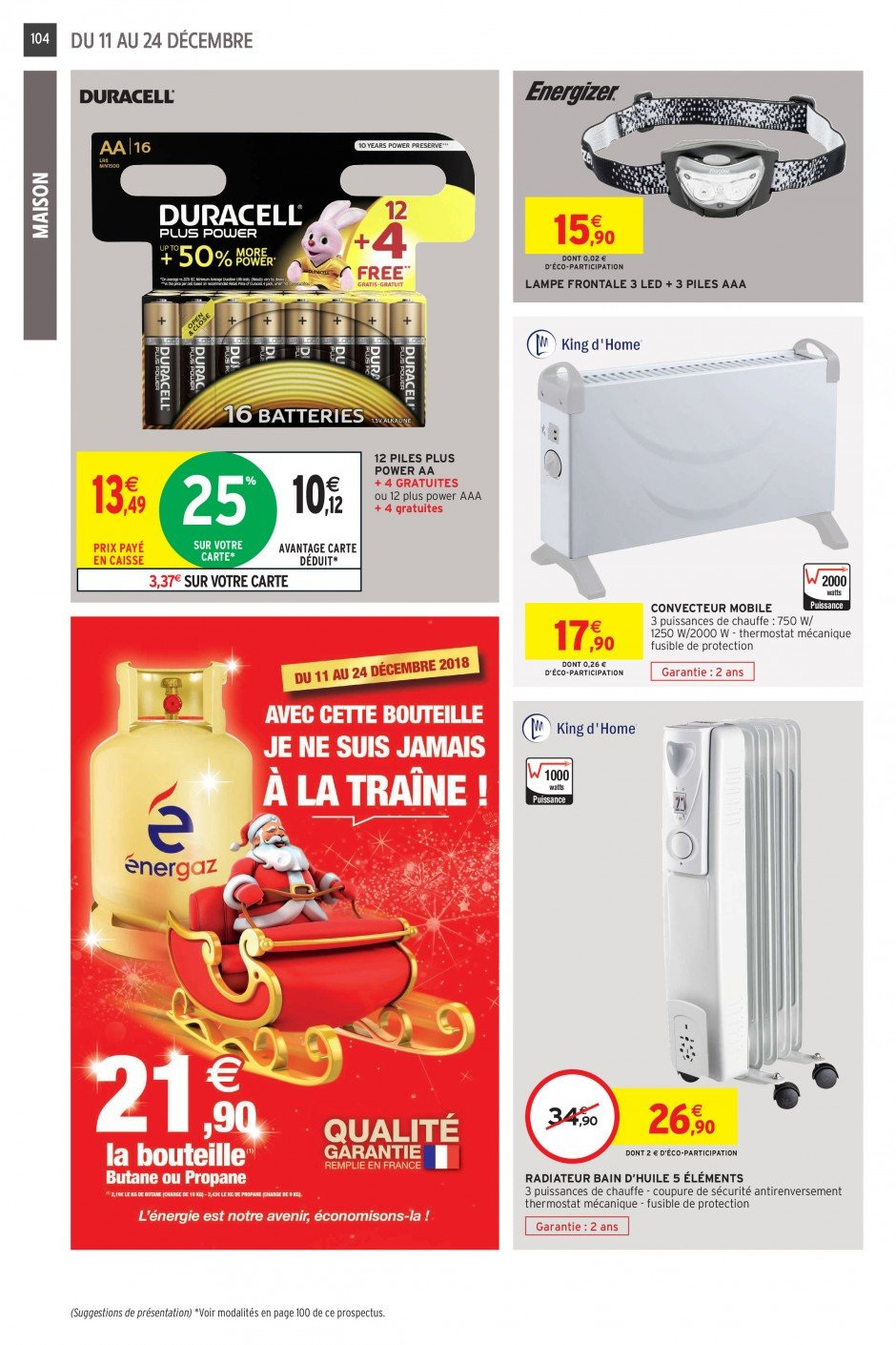 Catalogue Intermarché - 11.12.2018 - 24.12.2018. Page 98.