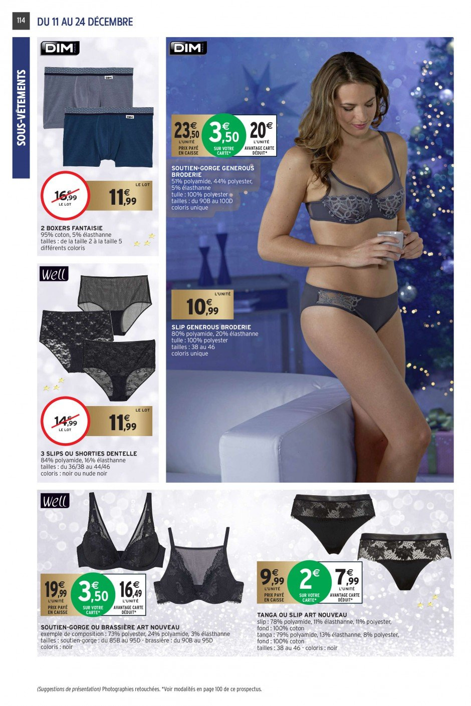 Catalogue Intermarché - 11.12.2018 - 24.12.2018. Page 108.