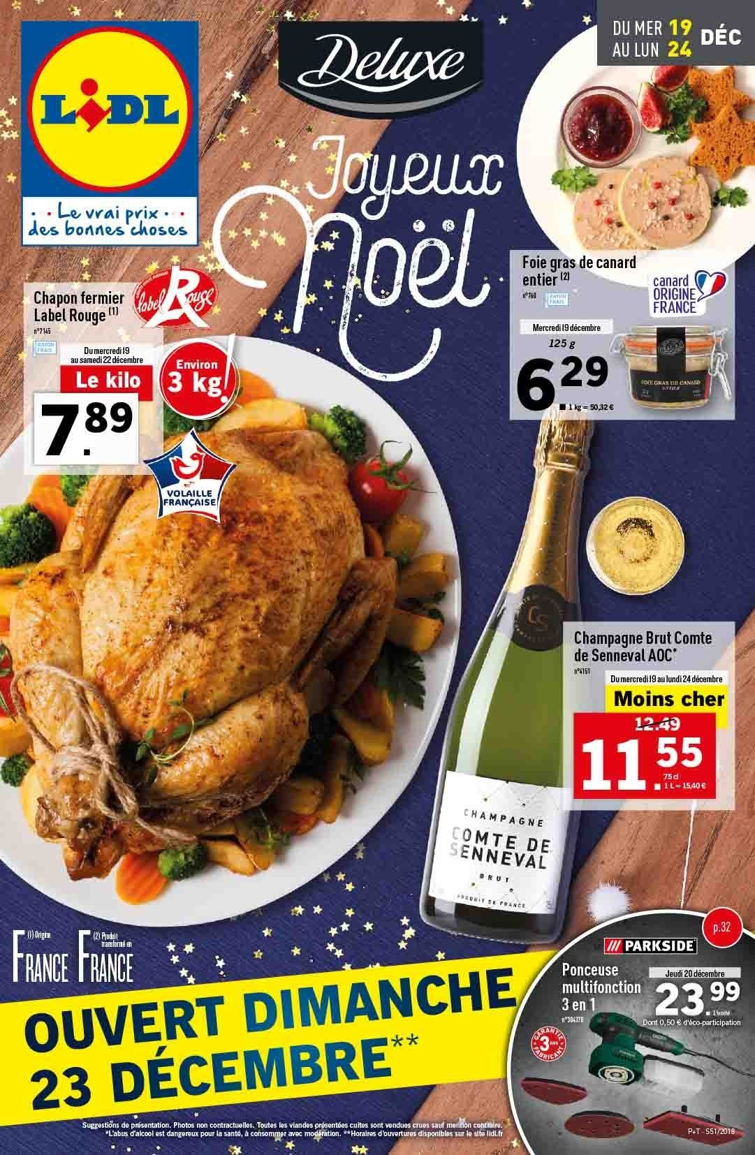 Catalogue Lidl - 19.12.2018 - 24.12.2018. Page 1.
