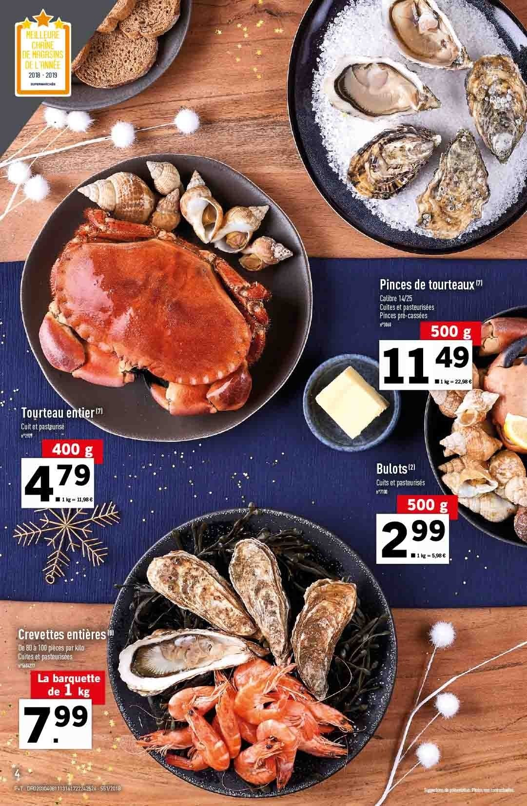 Catalogue Lidl - 19.12.2018 - 24.12.2018. Page 4.