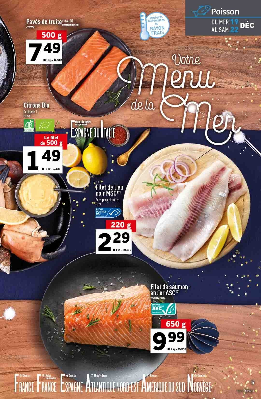 Catalogue Lidl - 19.12.2018 - 24.12.2018. Page 5.