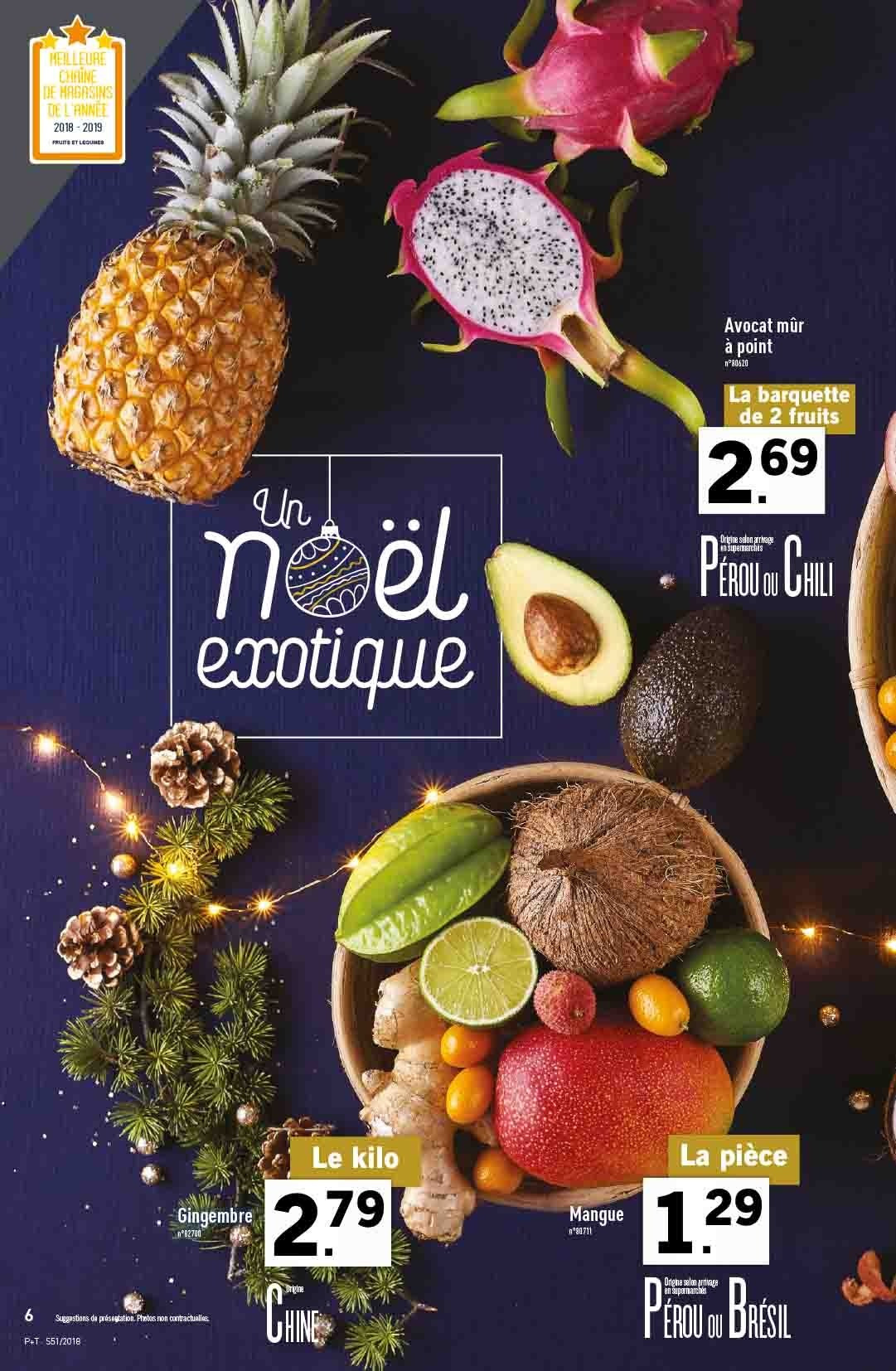 Catalogue Lidl - 19.12.2018 - 24.12.2018. Page 6.