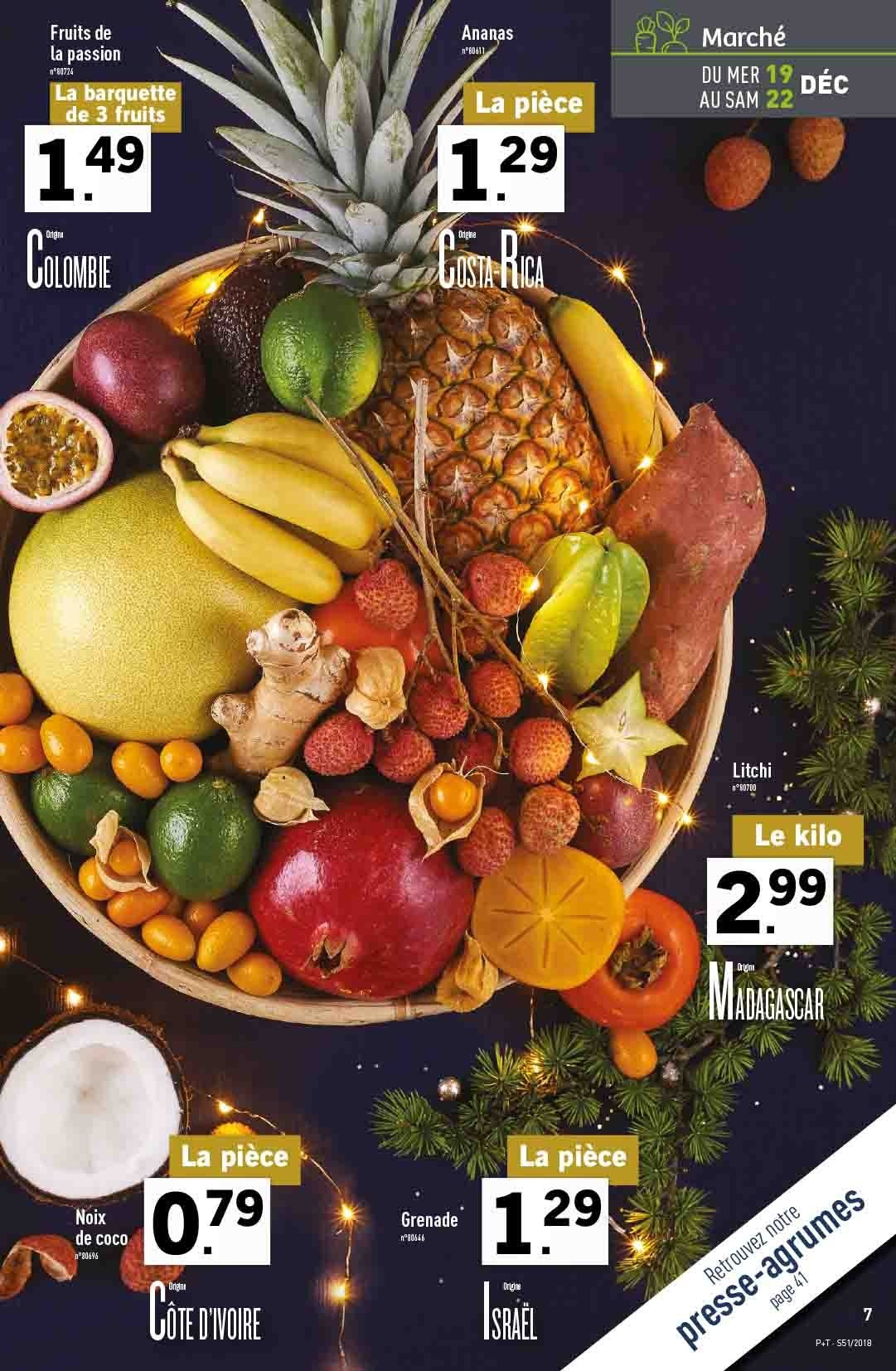 Catalogue Lidl - 19.12.2018 - 24.12.2018. Page 7.