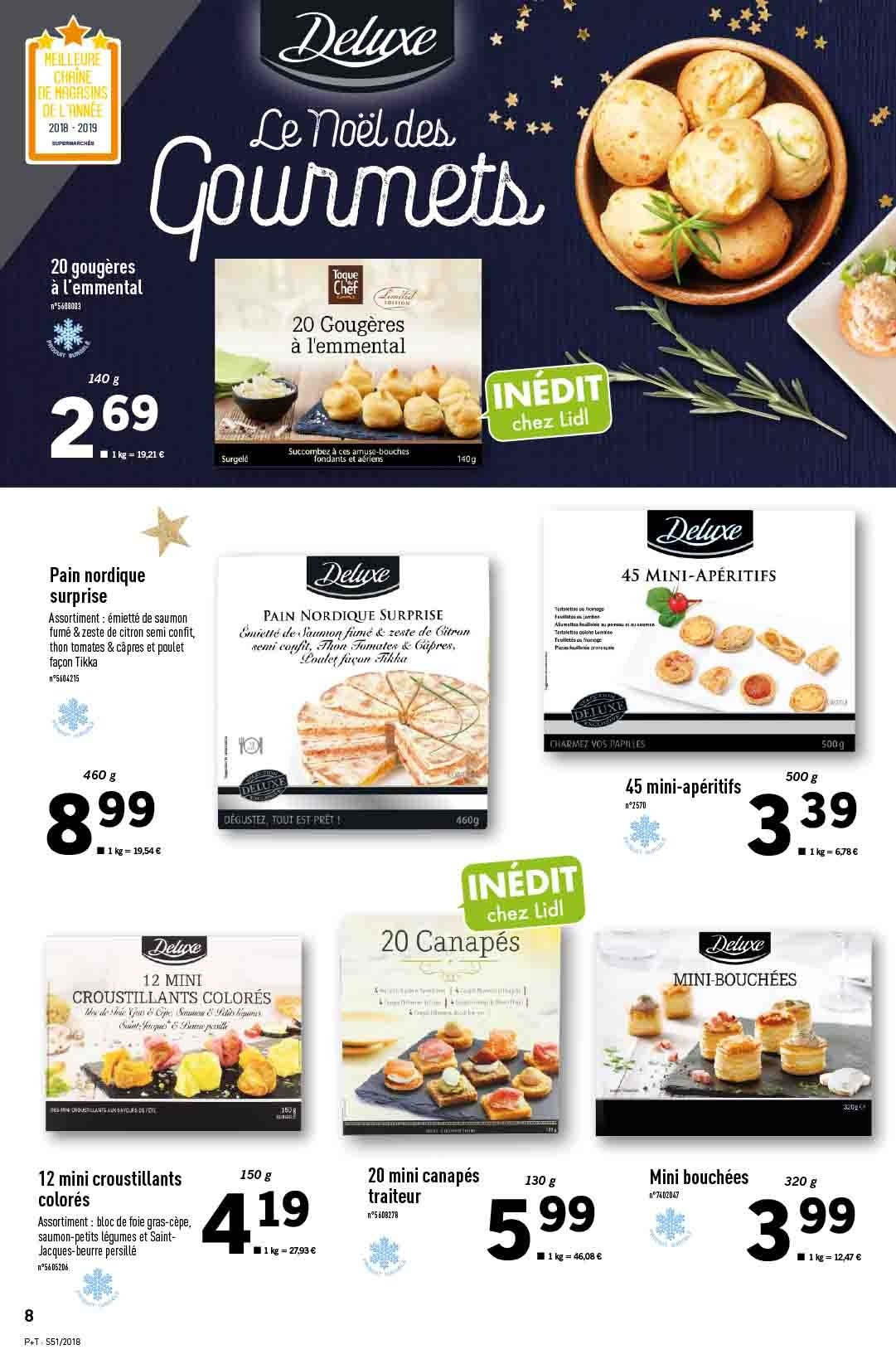 Catalogue Lidl - 19.12.2018 - 24.12.2018. Page 8.
