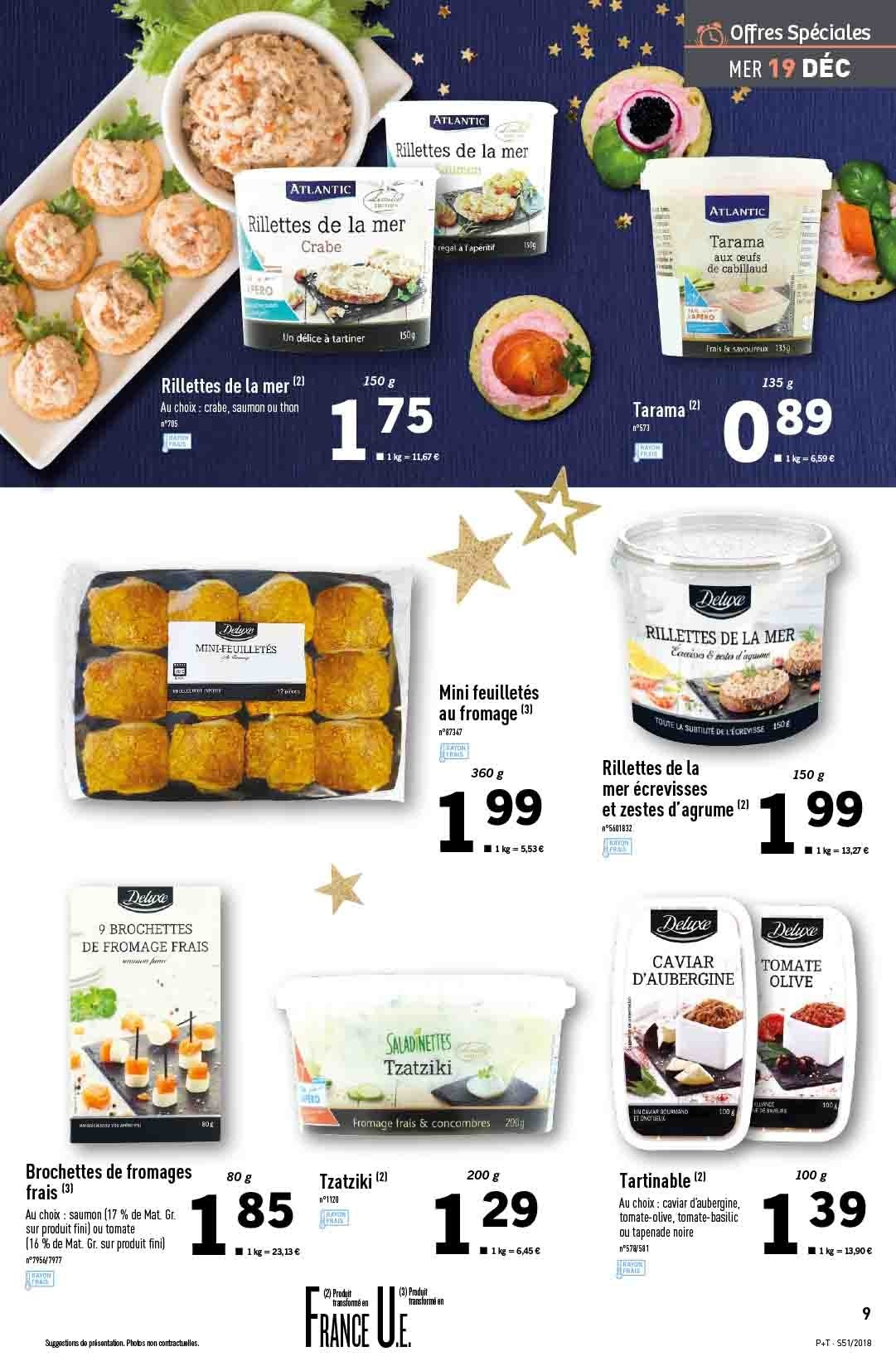 Catalogue Lidl - 19.12.2018 - 24.12.2018. Page 9.