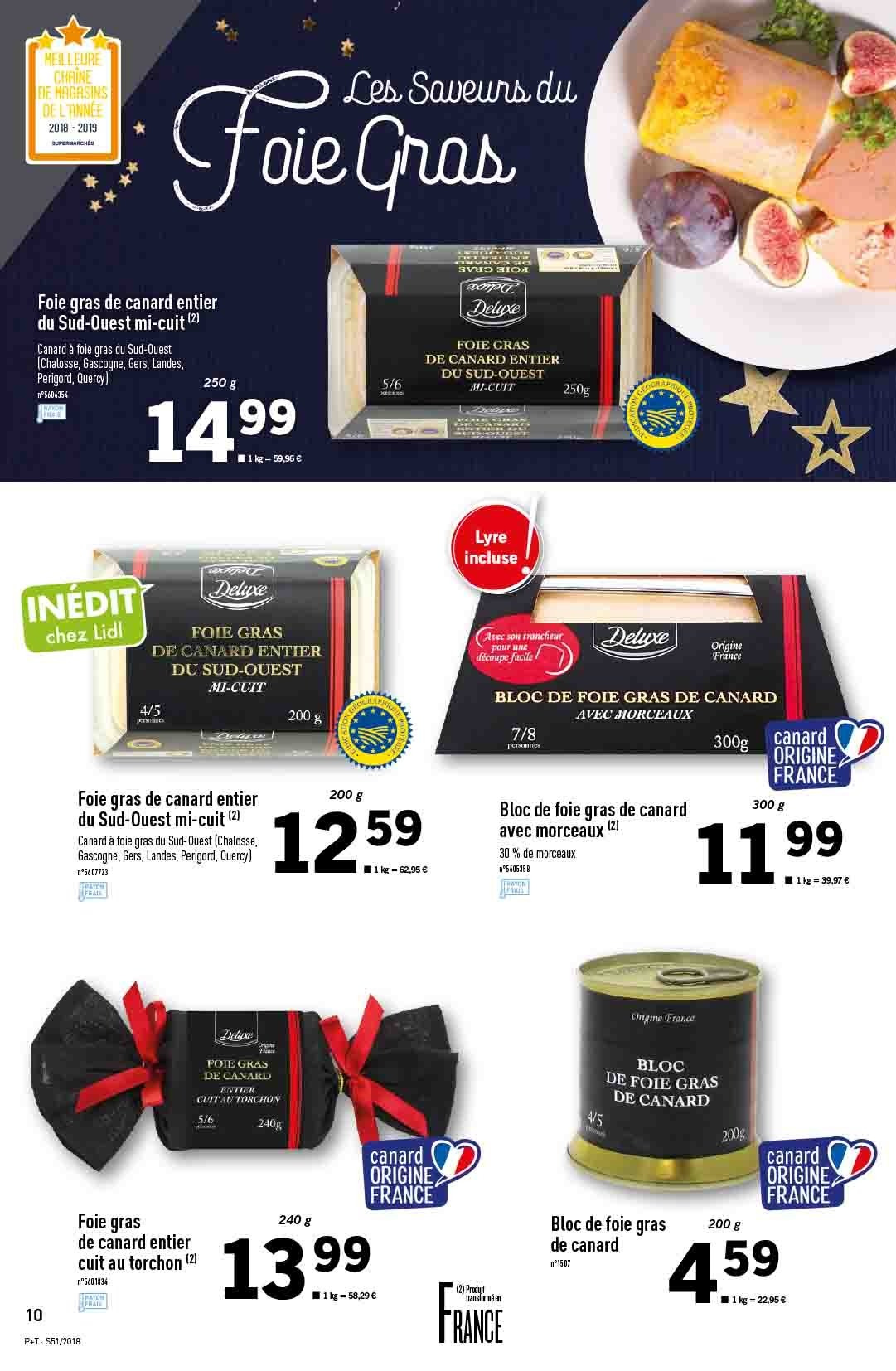 Catalogue Lidl - 19.12.2018 - 24.12.2018. Page 10.
