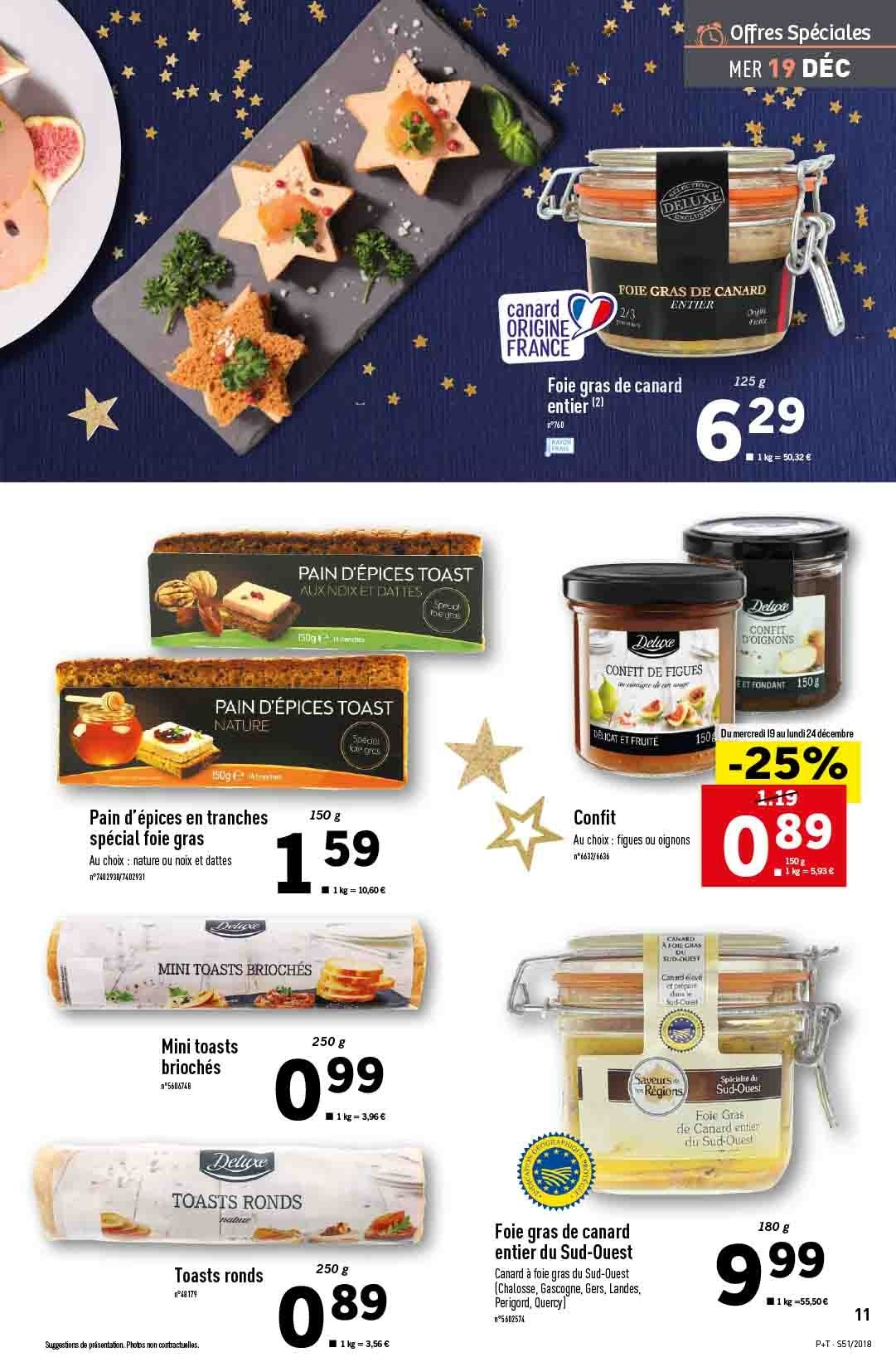 Catalogue Lidl - 19.12.2018 - 24.12.2018. Page 11.