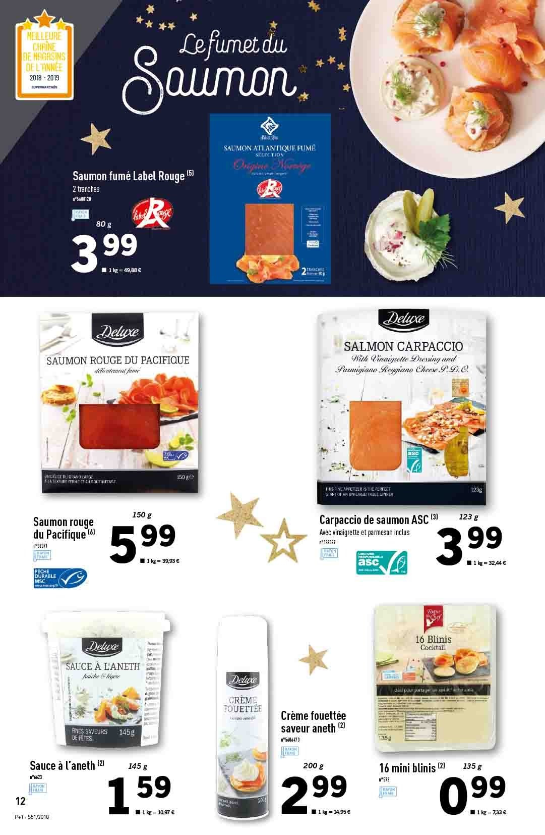 Catalogue Lidl - 19.12.2018 - 24.12.2018. Page 12.