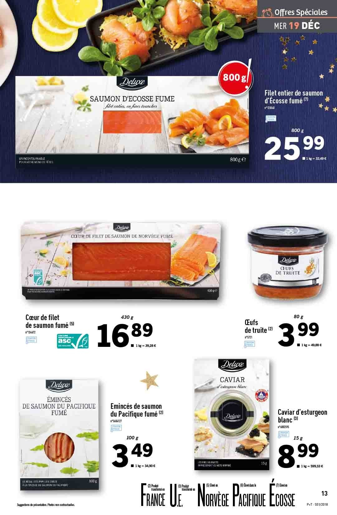 Catalogue Lidl - 19.12.2018 - 24.12.2018. Page 13.