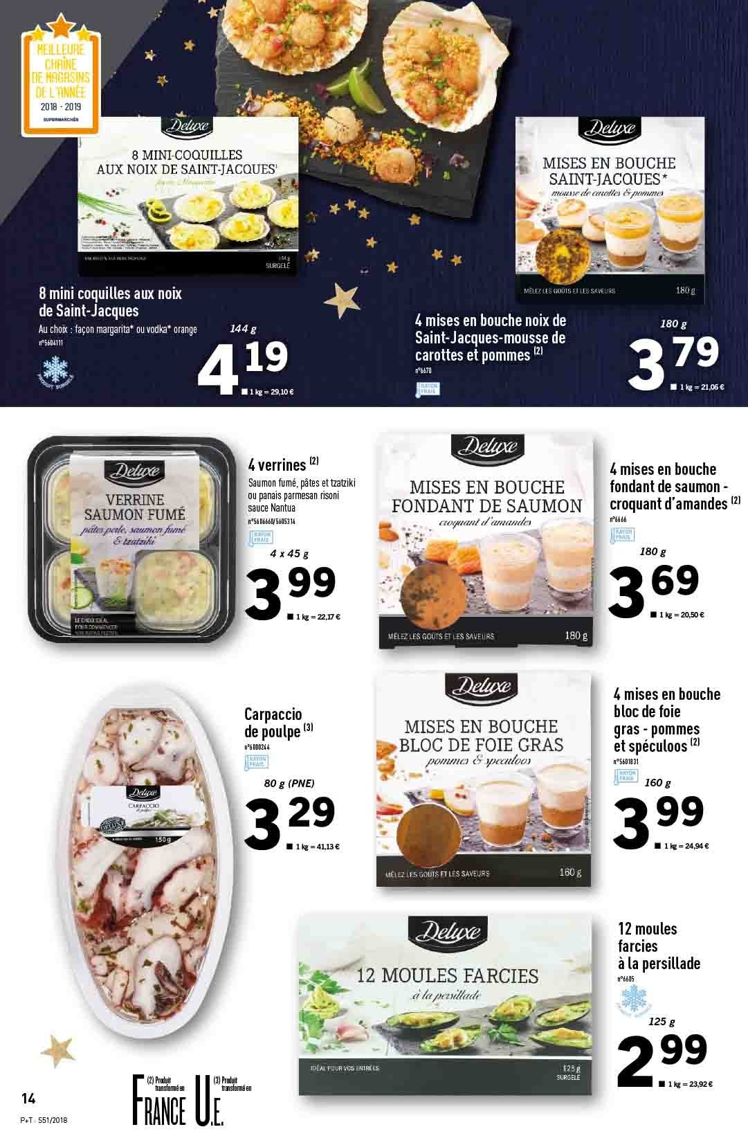 Catalogue Lidl - 19.12.2018 - 24.12.2018. Page 14.