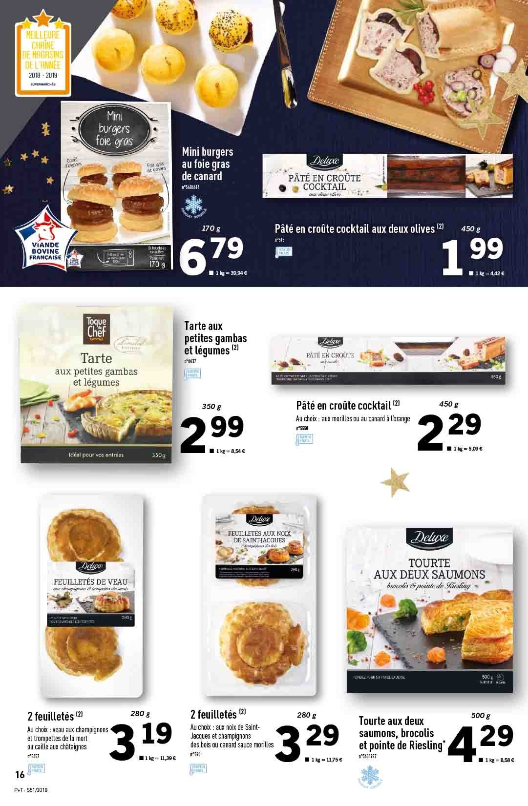 Catalogue Lidl - 19.12.2018 - 24.12.2018. Page 16.