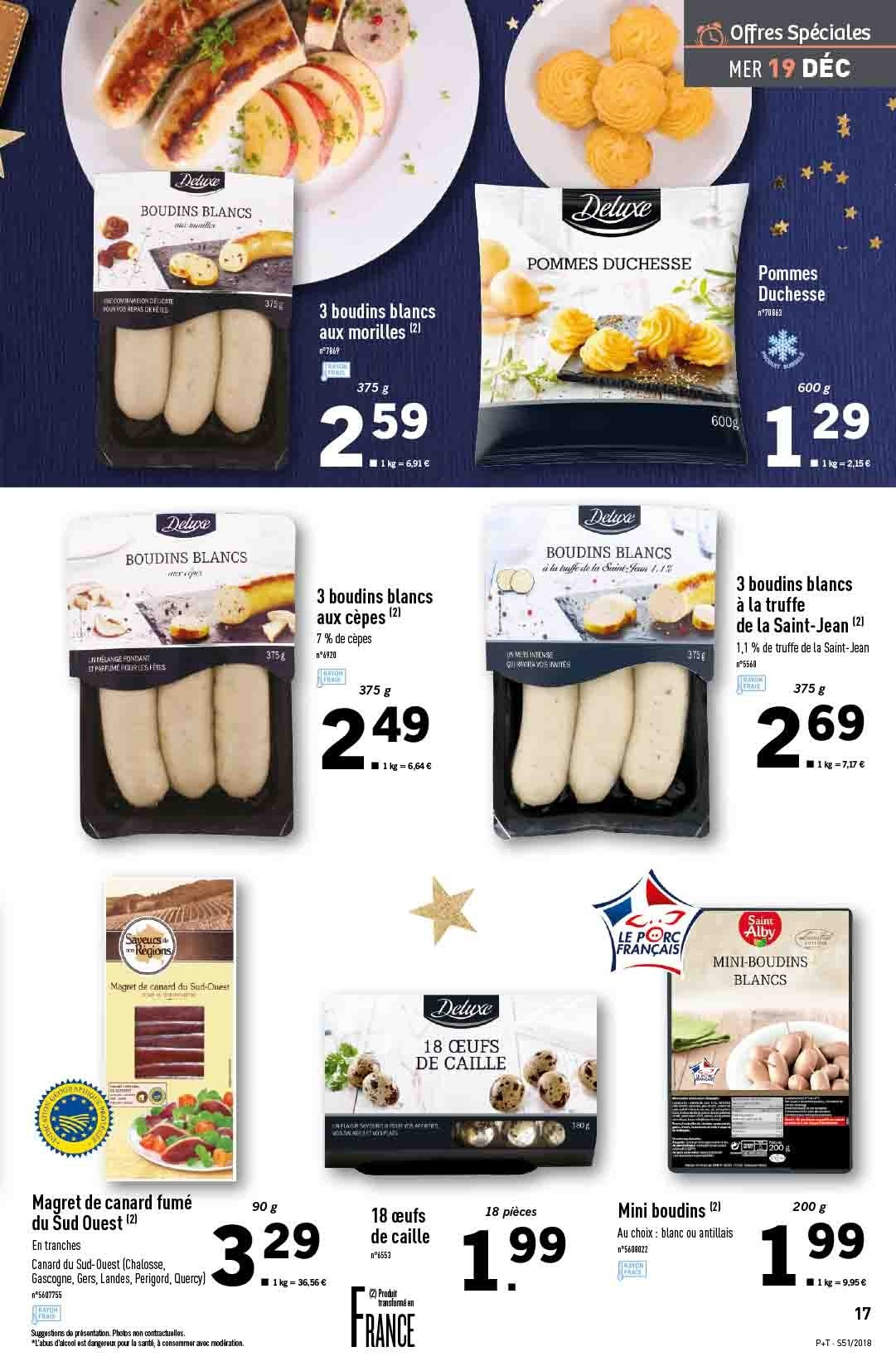 Catalogue Lidl - 19.12.2018 - 24.12.2018. Page 17.