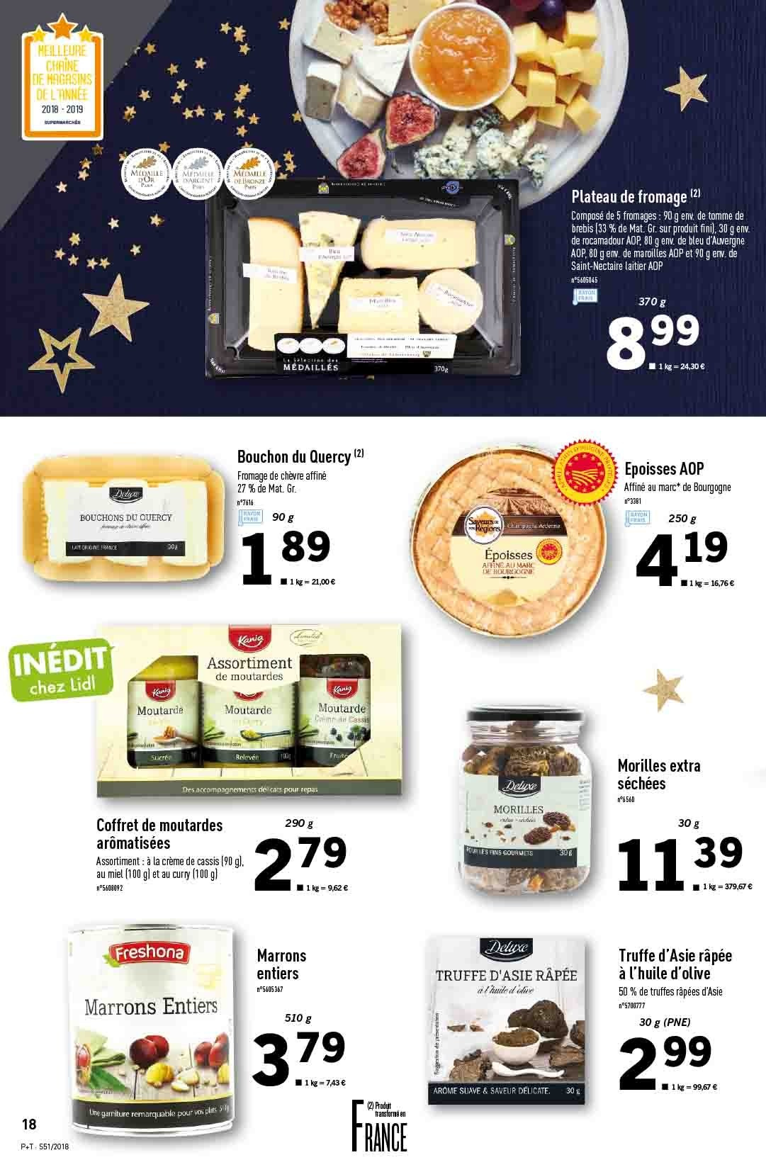 Catalogue Lidl - 19.12.2018 - 24.12.2018. Page 18.