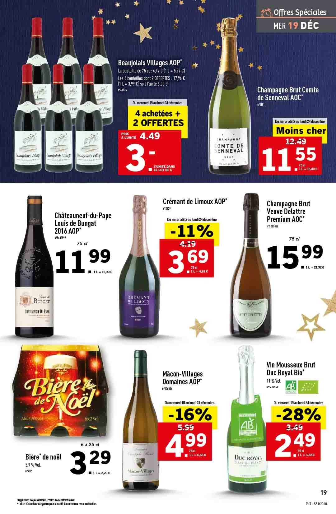 Catalogue Lidl - 19.12.2018 - 24.12.2018. Page 19.