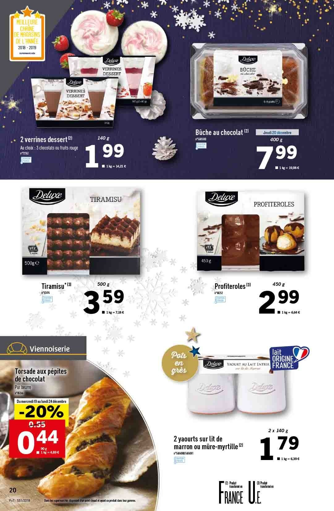 Catalogue Lidl - 19.12.2018 - 24.12.2018. Page 20.
