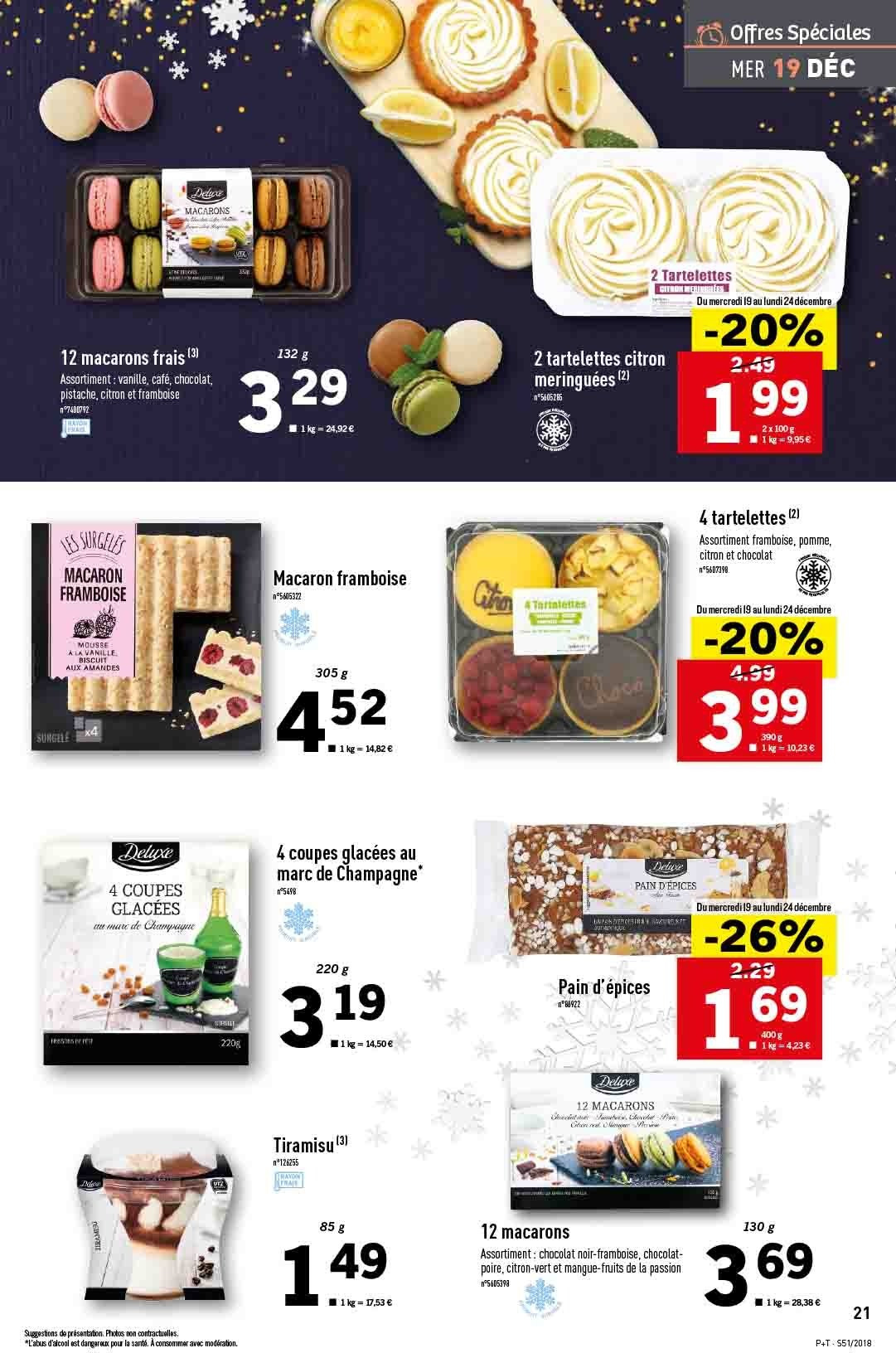 Catalogue Lidl - 19.12.2018 - 24.12.2018. Page 21.